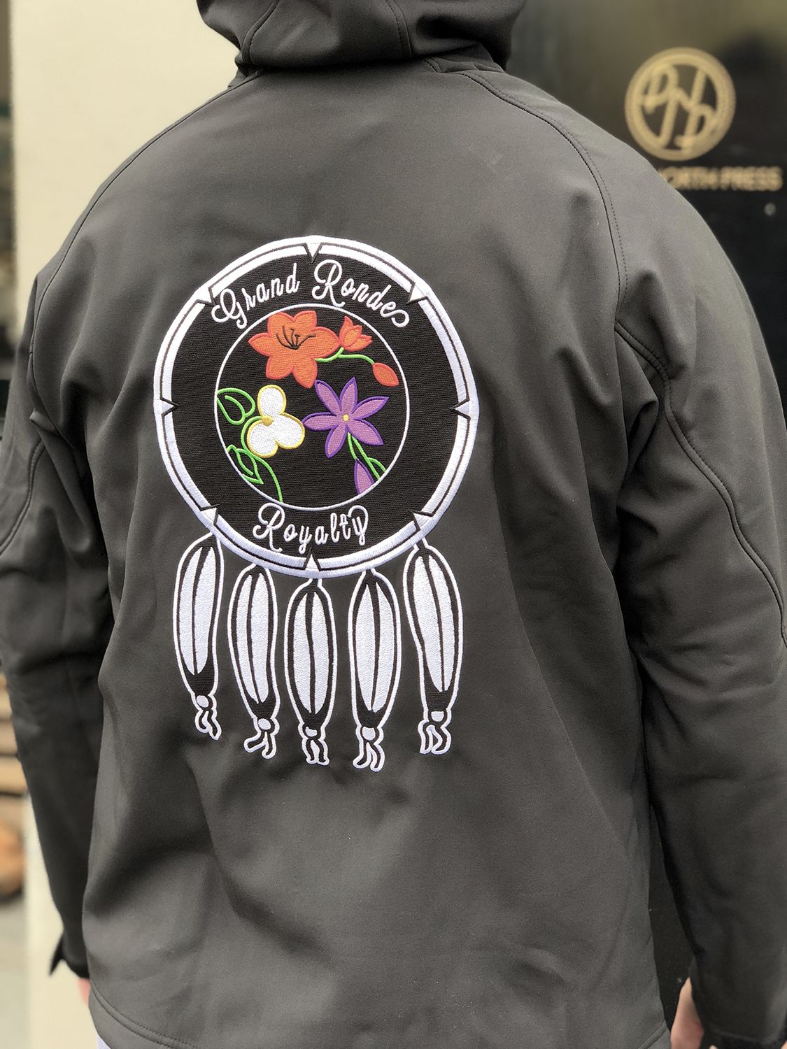Custom Sustainable Embroidered Jackets